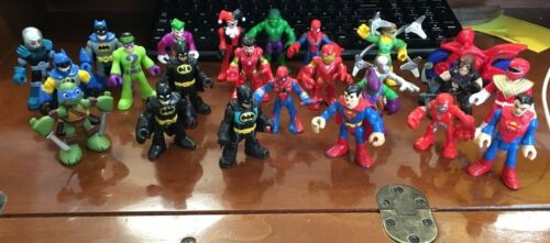 Super Heroes Action Figures-Your Choice Imaginext /& Playskool Heroes