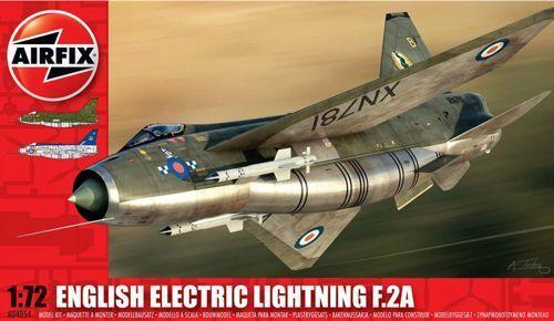 Airfix 1//72 English Electric Lightning F.2A # A04054