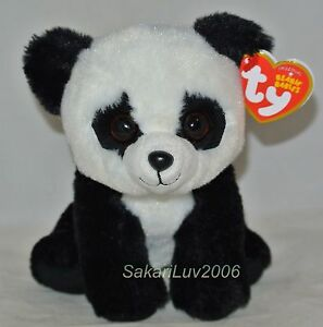 New-2017-Release-Ty-Beanie-Baby-BABOO-the-Panda-Bear-6-034-size-nwt-039-s