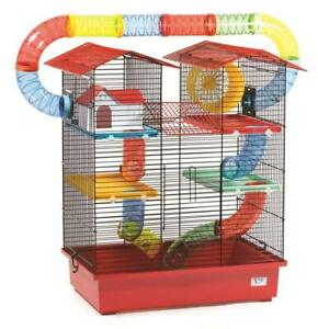 Large Hamster Cage Towers Mice Mouse Wheel House Tubes Water Bottle Pet Mouse Ebay