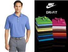 NIKE Golf Dri-Fit Micro Pique Polo Casual Sports Shirt Mens