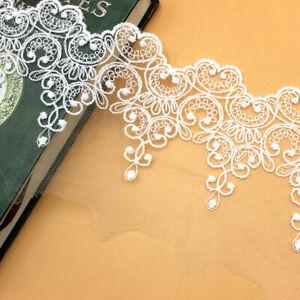 Mesh Lace Ribbon Polka Dots Trimming Sewing Craft Bridal Veil Funeral