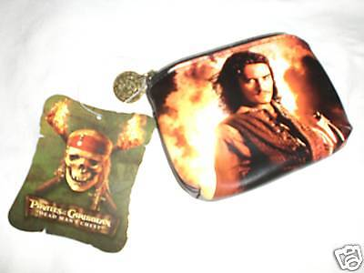 """DISNEYLAND PIRATES of the CARIBBEAN /""""DEAD MANS CHEST/"""" COIN WALLET RETIRED"""