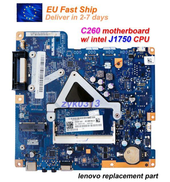 """Lenovo C260 19.5"""" AIO 90007027 LA-B001P ZAA00 w/ J1750 CPU HDMI MOTHERBOARD"""