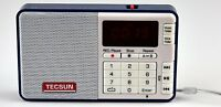 Tecsun Q3 High Sound Quality Fm Radio With Mp3 Player And Recorder - Blue