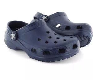 fed63535b8 Crocs Ralen Clog Adult Slip On Slingback Navy Blue Unisex Size: M9 ...