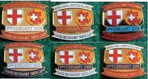 England-v-Switzerland-Friendly-International-6-February-2008-Wembley-Pin-Badge