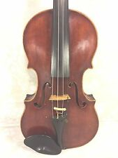 Vintage Johan Martin Hofman Violin w/ Case 1 Piece Belly and Back