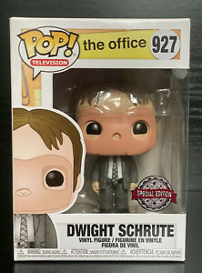 Pop-TV-The-Office-Dwight-Shrute-With-CPR-MASK-927-Funko-Pop-Vinyl-RARE