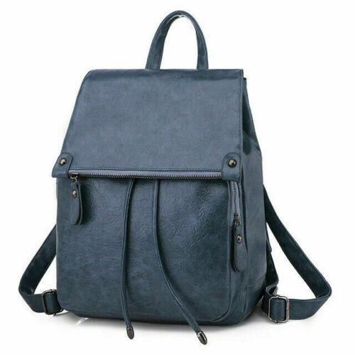 Women/'s Backpack Handbag Travel Satchel Girls Soft Leather Rucksack Shoulder Bag