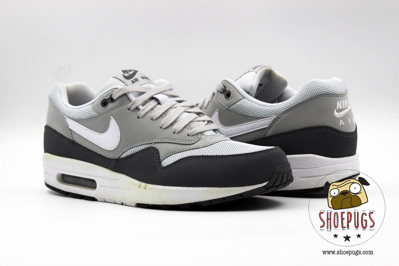 Nike Air Max 1 Essential size 9.5 9.5 9.5 w  Box dark grey white   Fast Shipping  8eec9c