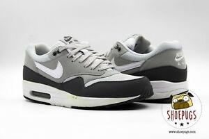 Details about Nike Air Max 1 Essential size 9.5 w Box dark grey white | Fast Shipping!