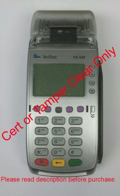 REPAIR YOUR VeriFone Vx520 (TAMPER and Certificate LOCK)