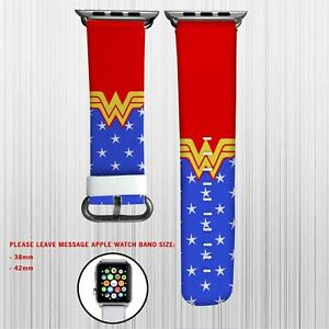 Wonder Woman DC Comics Superheroes Apple Watch Band