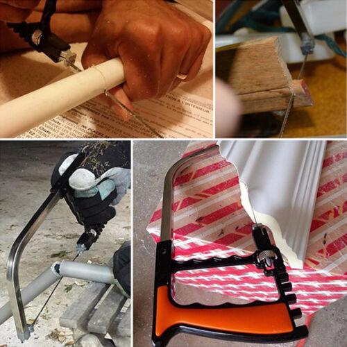 12X Bügelsäge Säge Handsäge set Metallsäge Multifunktionssäge für Geschenk Holz