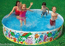 Kids Swimming Pool 8 feet for Kids and Adults for Home Garden Farmhouse