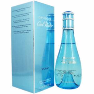 Davidoff Cool Water Women's 3.4oz/100mL. Deodorant Spray Brand New In Box Fresh