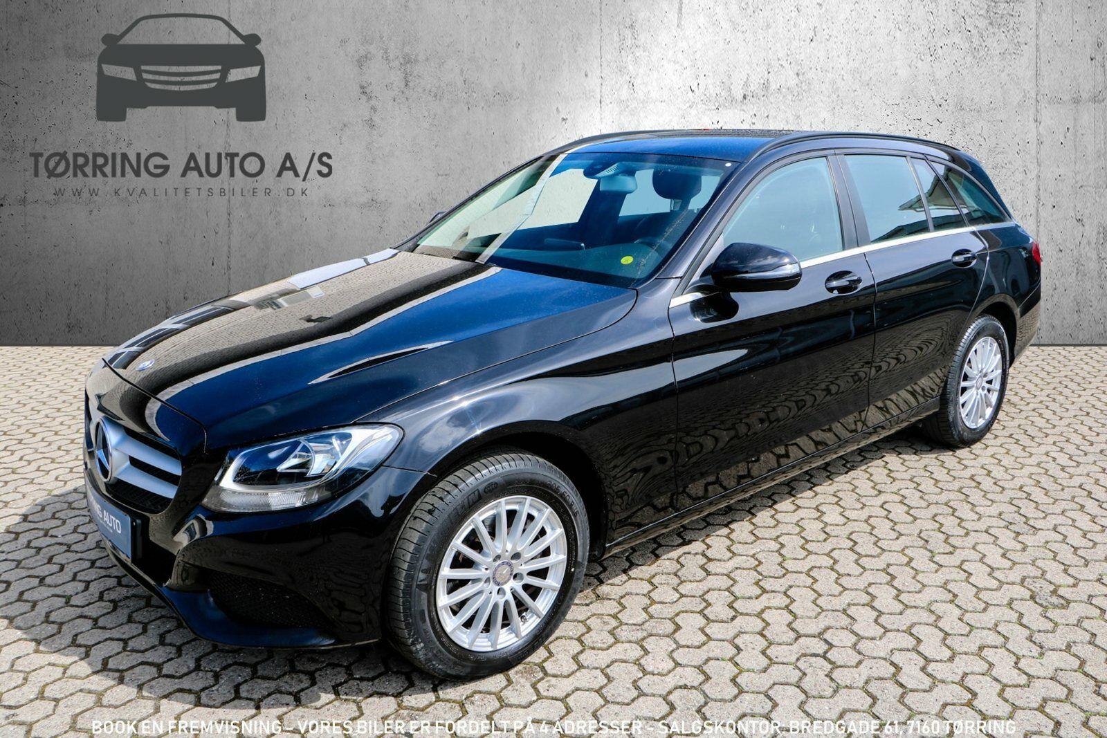 Mercedes C200 2,0 stc. aut. 5d - 359.900 kr.