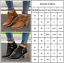 Womens-Ladies-Low-Heel-Buckle-Ankle-Martin-Boots-Block-Heel-Leather-Casual-Shoes thumbnail 3
