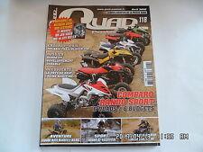 QUAD PASSION MAGAZINE N°118 04/2010 POLARIS TRAIL BLAZER 330 GRIZZLY 700   H40