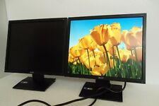 "Acer V193L Black 19/"" 1280x1024 5:4 LED Backlit LCD Monitor VGA Grade B"
