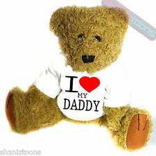 I Love My Daddy Novelty Gift Teddy Bear
