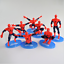 7-PCS-3D-Superhero-Spiderman-Cake-Topper-Cup-Cake-Decorations-Birthday thumbnail 2