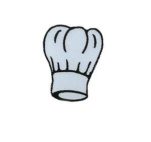 Patch-embroidered-iron-on-cloth-badges-kawaii-biker-chef-cooker-hat-cook