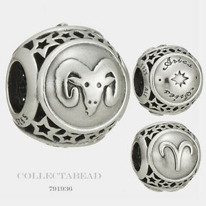 authentic pandora sterling silver zodiac aries sign