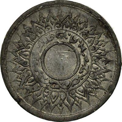 Ef Tin Rama Viii Coin #437404 Thailand Km:57 With Traditional Methods 1942 Satang 40-45