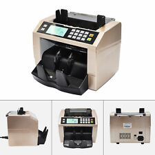 Lcd Automatic Multi Currency Cash Banknote Money Bill Counter Counting Machine