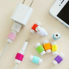 10pcs Charger Cable Saver Cover USB Charging Cord Protector for iPhone LY