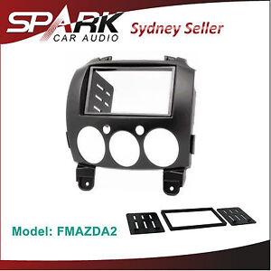 SP-Mazda-2-Double-2-DIN-FACIA-KIT-Panel-Fascia-Dash-For-2007-2014