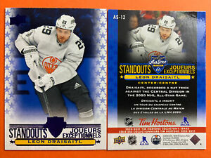 2020-21 Upper Deck Tim Hortons All Star Standouts #AS-12 Leon Draisaitl Oilers