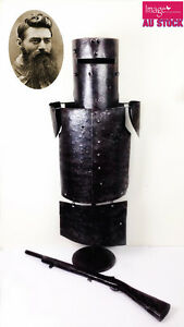 Ned-Kelly-Armor-Statue-Home-Decoration-Decor-Metal-Iron-H-85cm-Gift-Collection