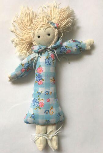 "Unique 9/"" Cloth Doll  #A001"