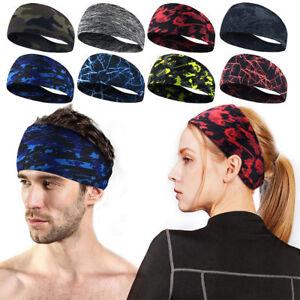 Fashion-Women-Men-Stretch-Headband-Sport-Sweat-Sweatband-Yoga-Gym-Hair-Head-Band