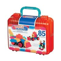 Bristle Blocks Box 85 pcs. - Building Sets by Battat 68074 Toys on Sale