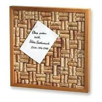 Wine Enthusiast Wine Cork Board Kit, New, Free Shipping