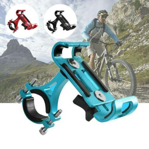 Aluminum Bike Bicycle Phone Holder Mountain Road Bike Handlebar Mount Bracket UK