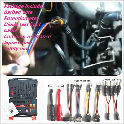Universal Car Automotive Circuit Repair Detector Potentiometer Barbed Cable Kit