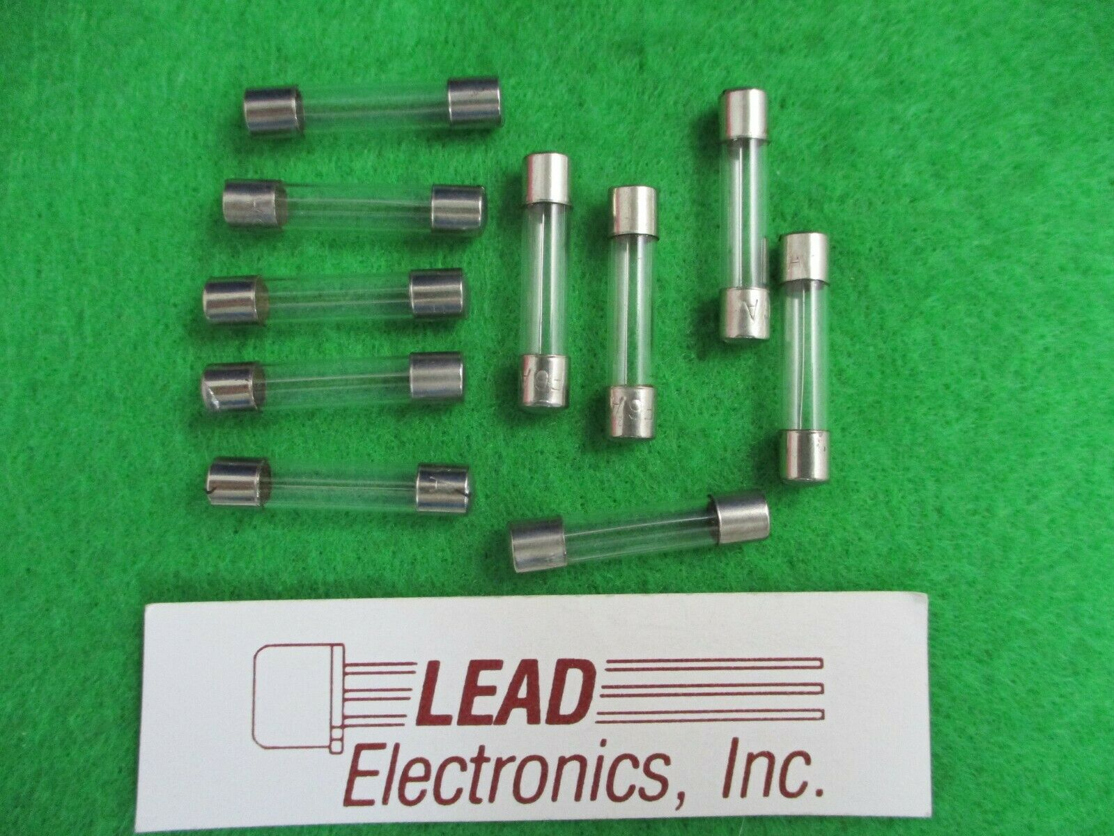 QTY 10 FUSE 25-AMP 6MM X 30MM EQUAL TO ABC-25 0314025 CERAMIC FAST ACTING