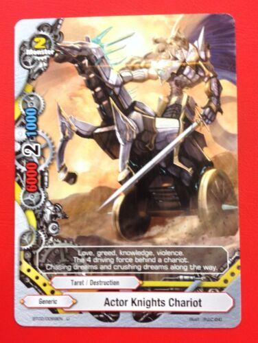 Buddyfight English BT02//0069EN UC Actor Knights Chariot