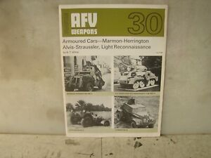 Afv Weaoibs 30 Armoured Cars Marmon Alvis And Light Recon Sc Ebay