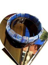 Cadeau Mariage Bracelet lithothérapie Lapis Lazuli  Bijoux en Pierre Naturelle