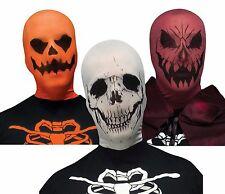 3pk Costume Pullover Stocking Mask Assortment - Skull, Devil, Jack O Lantern