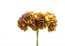 Flower Bouquet Carnations Silk Artificial Flowers for Decor DIY Coffee