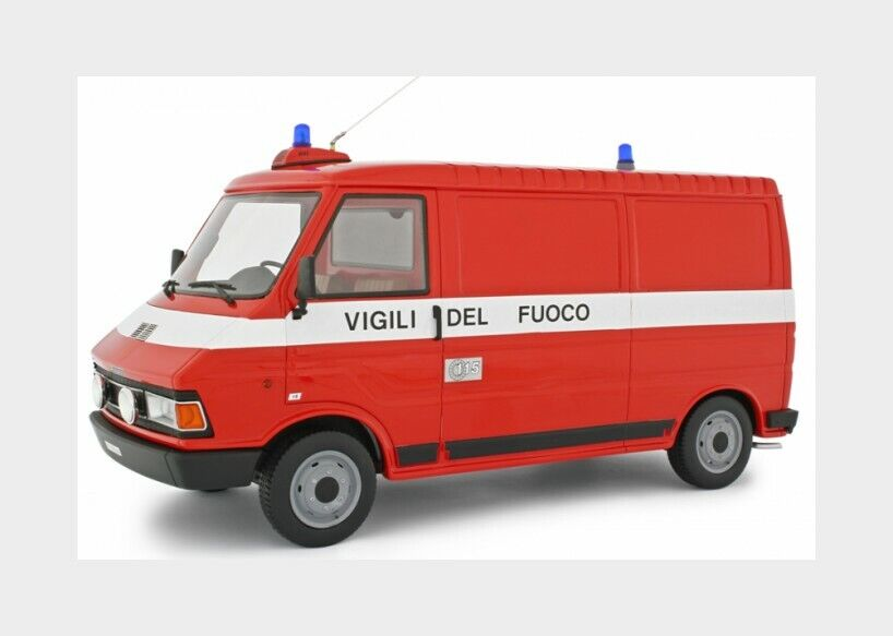 Fiat Fiat 242 Van Vigili Del Fuoco 1984 Fire Engine LAUDORACING 1 18 LM107BVF