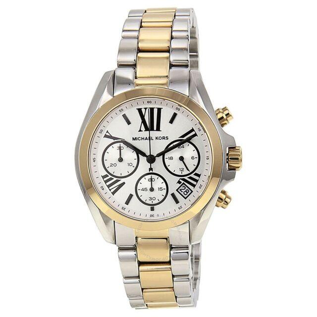 3da7a2761f98 Michael Kors Women s MK5912 Bradshaw Chronograph Two-Tone Stainless Steel  Watch