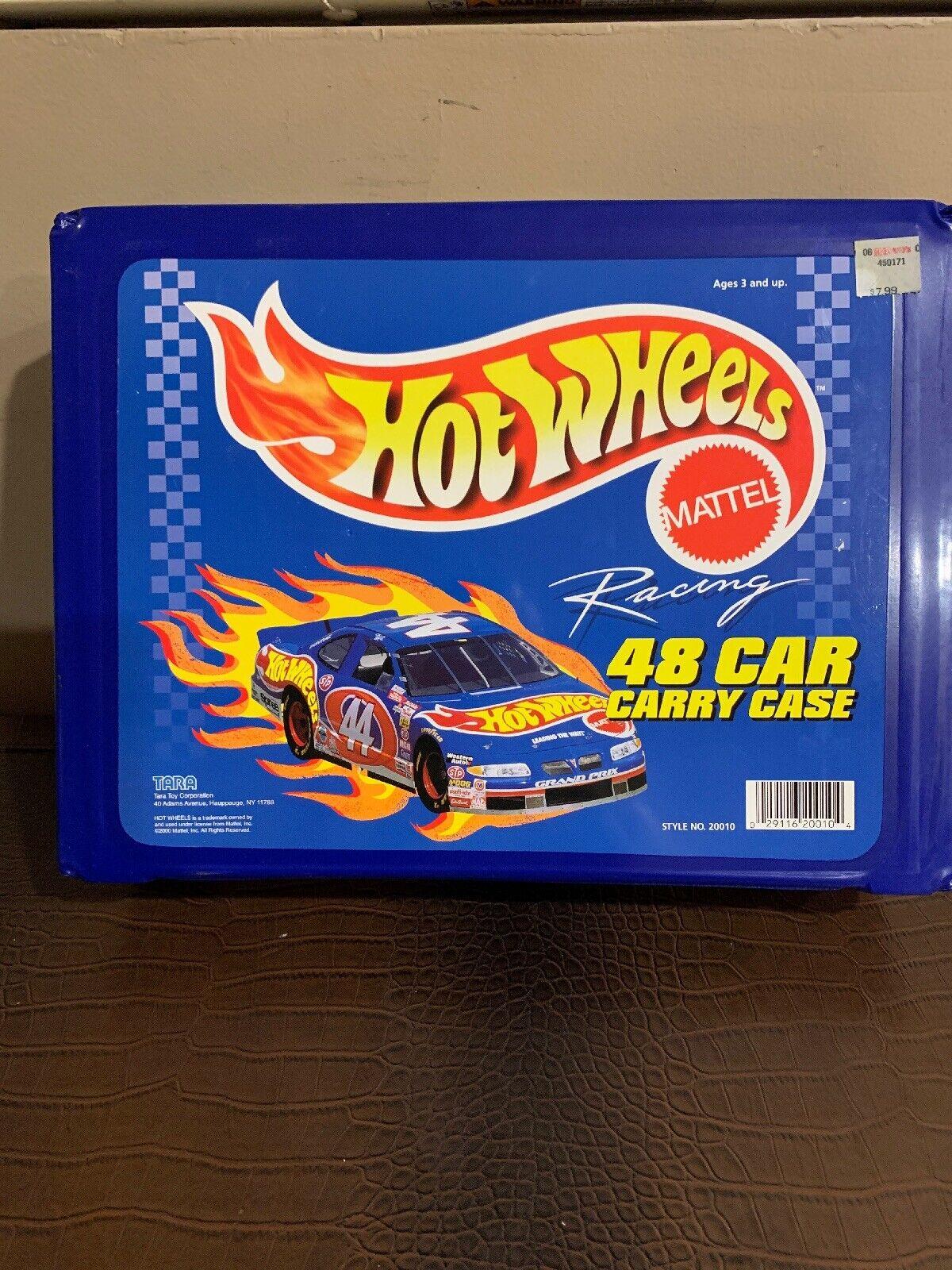 Hot Wheels Racing 48 Coche Llevar Estuche por Tara 1997 coches modelo 20010 - 48
